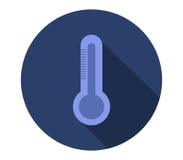 Icône de thermomètre Images libres de droits
