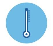 Icône de thermomètre Photo libre de droits