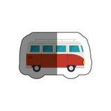 icône de tourism van vehicle Photo libre de droits