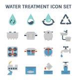 Icône de traitement de l'eau illustration libre de droits