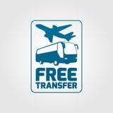 Icône 01 de transfert gratuit Images libres de droits
