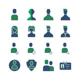 Icône de 20 utilisateurs illustration stock