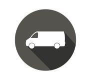 Icône de Van truck Photos libres de droits
