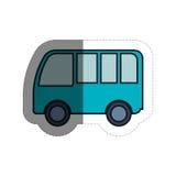 Icône de Van vehicle Photographie stock