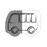 Icône de Van vehicle Photos stock