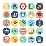 Icône 1 de vecteur d'éducation et de connaissance illustration libre de droits
