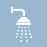 Icône de vecteur de douche illustration libre de droits