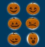 Icône de vecteur de Halloween Image libre de droits