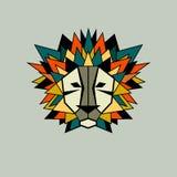 Icône de vecteur de lion Images libres de droits