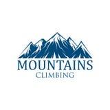 Icône de vecteur de sport d'alpinisme illustration de vecteur