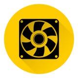 Icône de ventilateur d'extraction illustration stock