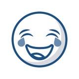 Icône de visage d'émoticône illustration libre de droits