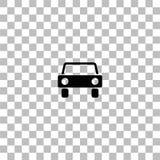 Ic?ne de voiture plate illustration stock
