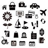 Icône de Web de passe-temps ou de vie Images libres de droits