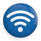 Icône de WiFi Image libre de droits