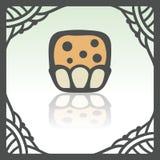 Icône douce de nourriture de petit pain d'ensemble de vecteur Logo infographic moderne et pictogramme Photo libre de droits