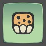 Icône douce de nourriture de petit pain d'ensemble de vecteur Logo infographic moderne et pictogramme Images stock