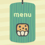 Icône douce de nourriture de petit pain d'ensemble de vecteur Logo infographic moderne et pictogramme Photographie stock