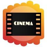 Icône du cinéma Cinématographie et films Images libres de droits