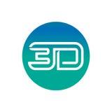 icône du mot 3D Photographie stock libre de droits