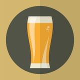 Icône en verre de bière Image stock