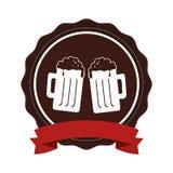 Icône fraîche de boissons de bière Image stock
