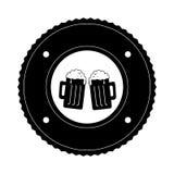 Icône fraîche de boissons de bière Photo stock