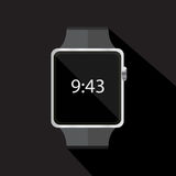 Icône futée de montre Illustration de vecteur Image stock