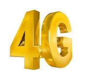 icône 4G d'isolement Photographie stock libre de droits