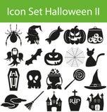 Icône Halloween réglé II Image stock