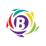 Icône initiale de B Images stock