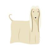 Icône mignonne de bande dessinée de chien Photo stock
