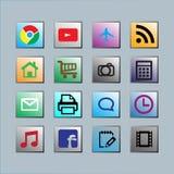 Icône mobile Photographie stock libre de droits