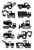 Transport de construction Image stock