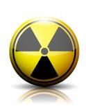 Icône nucléaire illustration stock