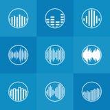 Icône ou logo de Soundwave illustration de vecteur