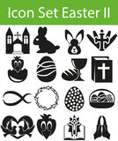 Icône Pâques réglée II Photos libres de droits