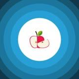 Icône plate d'isolement de récolte L'élément de vecteur de Jonagold peut être employé pour Jonagold, Apple, concept de constructi Photographie stock libre de droits