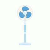 Icône plate de fan d'air Équipement de graphique de ventilateur Vecteur ENV 10 Illustration Libre de Droits