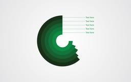 Icône plate de vecteur d'Infographics Photo libre de droits