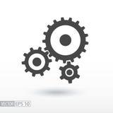 Icône plate de vitesse Vitesses de signe Dirigez le logo pour le web design, le mobile et l'infographics Photos libres de droits