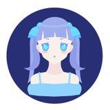 Icône Poissons de zodiaque d'horoscope Photos libres de droits