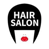 Icône pour le coiffeur illustration stock