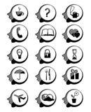 Icône principale illustration de vecteur