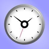 Icône ronde d'horloge murale Photo libre de droits