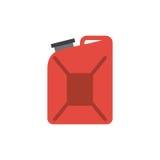 icône rouge de gallon illustration de vecteur