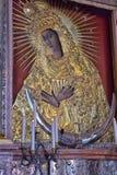 Icône sainte de mère de Dieu Ostrobramska à Vilnius, Lithuanie Image libre de droits
