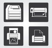 Icône simple de Web dans : équipement de bureau photo libre de droits