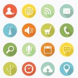 Icône sociale Photos libres de droits