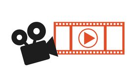 Icône visuelle d'application Photo stock